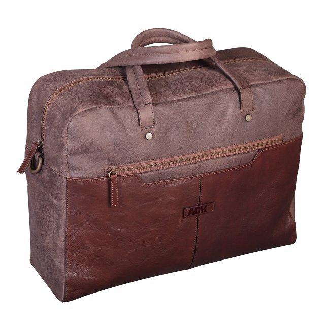 5ff96367a2d27 Cestovná taška ADK Santiago hnedá | ADK